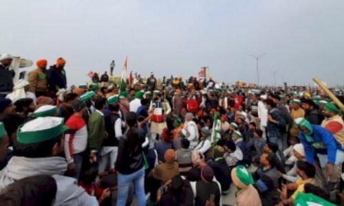 किसानों का आंदोलन 48वें दिन जारी, सुप्रीम कोर्ट के फैसले पर नजर