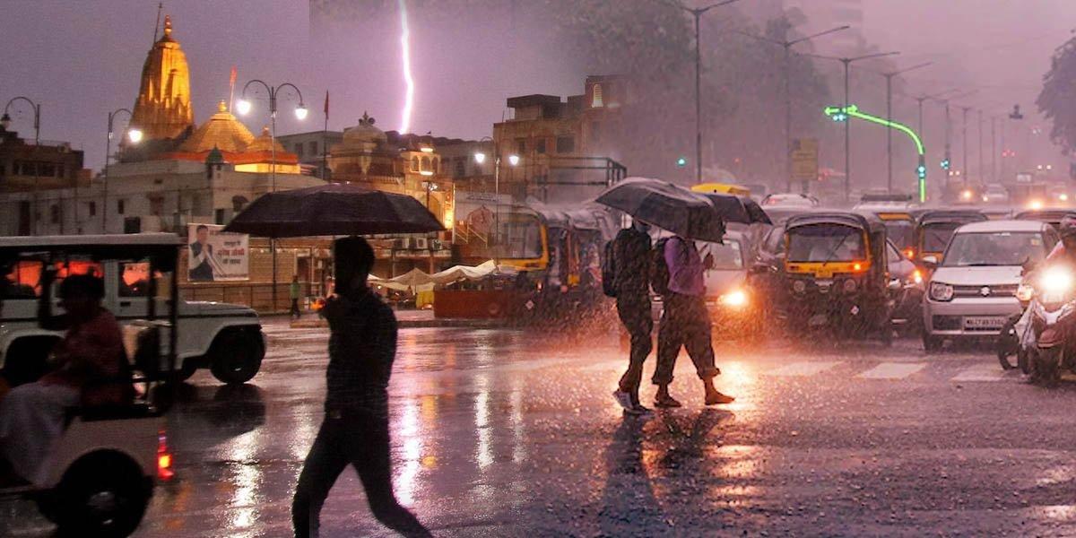 Lightning Strike in Rajasthan