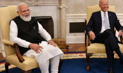 प्रधानमंत्री नरेंद्र मोदी ने अमेरिकी राष्ट्रपति जो बाइडेन को भारत आने का न्योता दिया