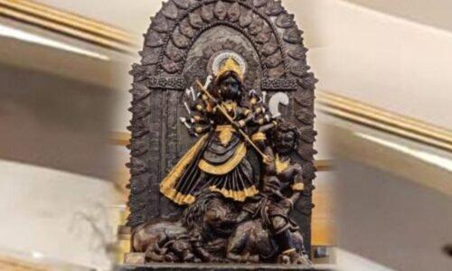 Vijayadashmi 2021 : दूध में होगा चॉकलेट से बनी मां दुर्गा की मूर्ति का विसर्जन, फिर वंचित बच्चों में बांटा जाएगा मिल्कशेक…
